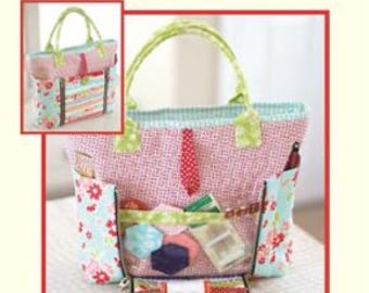 Sew on the Go Bag by Cotton Way - Project Bag Pattern