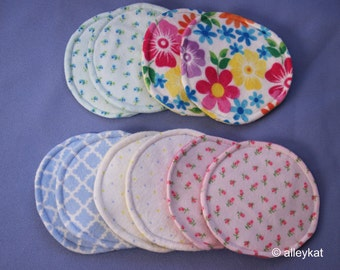Nursing Pads, Reusable Breast Pads, Washable Breastfeeding Pads, 5 sets