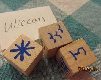 Wiccan Rune Dice Divination