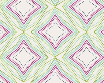 Seeing Stars Violet in KNIT, Petal & Plume Collection by Bari J. for Art Gallery Fabrics 6167