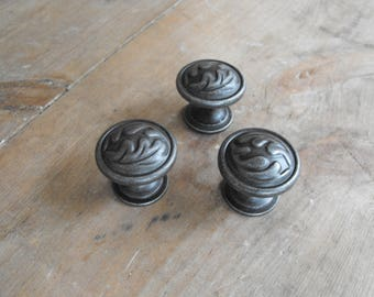 3, Cabinet Handles, Knobs, Salvage Handles, Cabinet Handles, NOS Knobs, Closet Handles, Cabinet Knobs, Nos Knobs, Cabinet Handles,