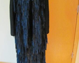 Handwoven 2 piece skirt and jacket, Kathleen Weir West
