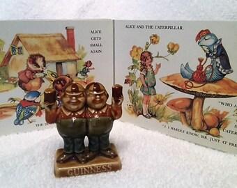 Vintage Guinness Promotional Figure - Tweedle Dum & Tweedle Dee