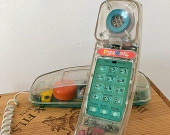 1980s Clear Telephone