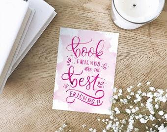 Book Friends Art Print