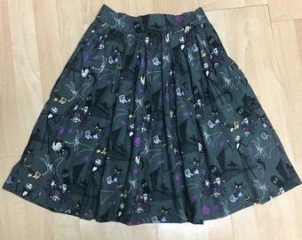 Skirt Made with Nightmare Before Christmas Fabric