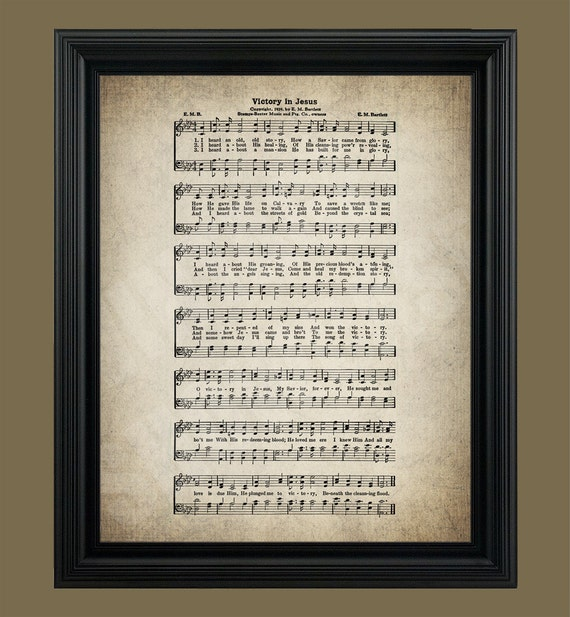 Obsessed image for in the garden hymn printable
