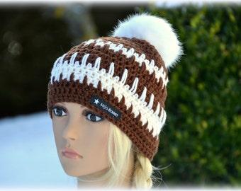 Art fur Pompom Hat