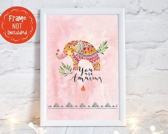 elephant gifts, elephant nursery art, elephant prints, elephant gifts, elephant wall art, elephant art print, elephant nursery decor,