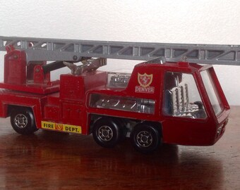 Matchbox Superkings K-9 Fire Tender. 1972 Lesney Products.