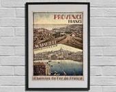 Marseille Print 1900 - Ma...