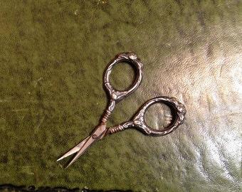 Sterling Silver Manicure Scissors