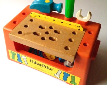 Fisher price vintage Work Bench