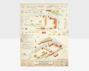 antique 1912 fire insurance map, fire insurance map, antique architectural drawings, antique planning drawings,  antique factory drawing