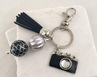 Camera Key Chain, Photographer Key Chain, Photographer Gift, Photography Key Chain, Camera Keyring
