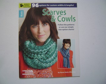 Scarves & Cowls to Knit Instruction Booklet
