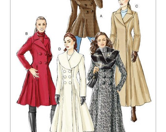 Vogue Pattern V8346 Misses' Coat