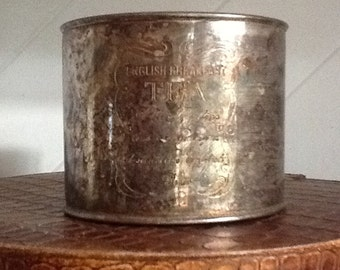 Tea Can,Tea Container,50's Containers