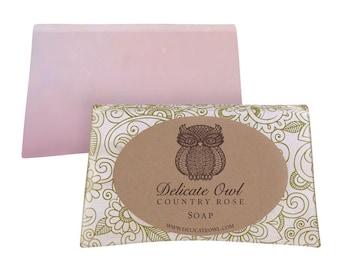 Country Cottage Rose - soap slice 80gr