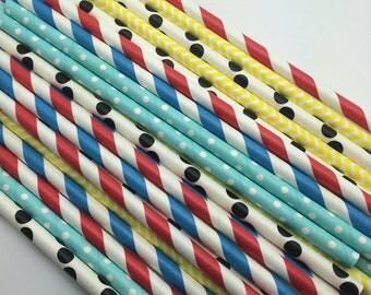 25pc Paper Straws #5
