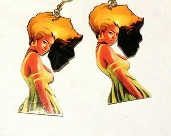 Africa Hair Girl