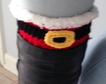 Boot covers, Christmas boot covers, red  boot covers,Christmas gift, Santa Claus boots covers, leg warmers
