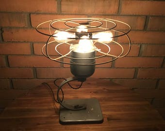 Vintage WindMaker Fan Lamp