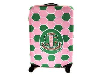 Large Alpha Kappa Alpha Sorority Luggage Cover
