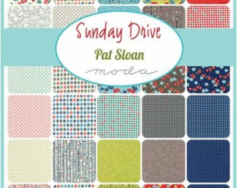 Sunday Drive Fat Quarter Bundle by Pat Sloan