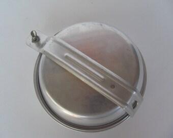 Military Aluminum Mess Kit -  6 pieces marked Korea