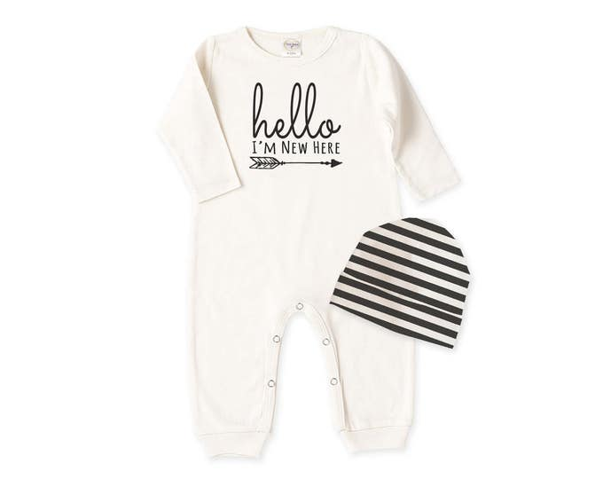 Newborn Boy Coming Home Outfit, Newborn Baby Clothes, Baby Girl Coming Home Outfit, Baby Girl Romper, Baby Boy Romper Tesababe RC81IY63IBS