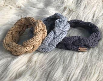 Braided Headband //  Cable Knit  //  Beautiful Soul Head Wrap