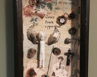 Assemblage Curio ' The Foundling '