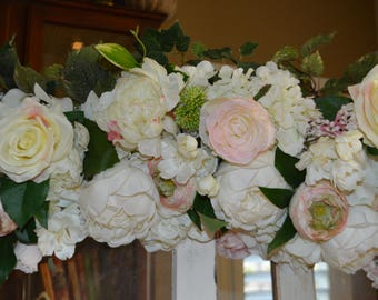 Wedding Arch, Chuppah Flowers, Wedding Arch Flowers, White Wedding Flowers, White Arch Flowers, Wedding Arch Flowers