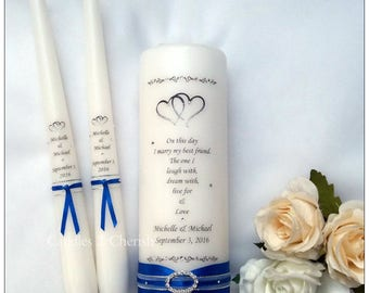 unity candle set personalised unity candle set unity candle personalised unity candle