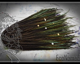 Custom Light Full Kit - 40 DE Wool Dreadlocks