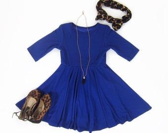 Royal blue dress | Etsy
