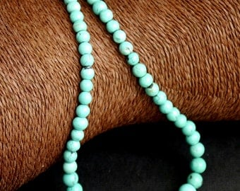 Graduated Chinese Turquoise Necklace