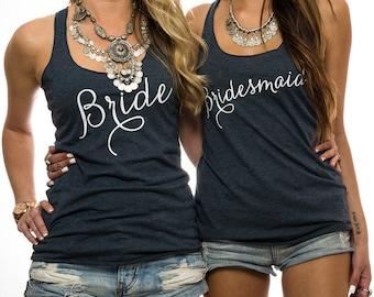 Bridesmaid. Bridesmaid Shirt.