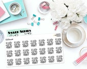 "SNARK SERIES: ""Relax & Accept the Crazy"" Paper Planner Stickers!"