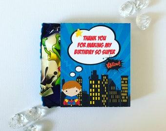 Superhero matchboxes