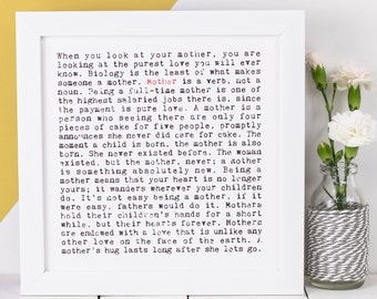 Mother Print; Gift For Mothers; Gift For Moms; Gift For Mummy; Love You Mum; AP032