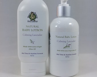 Baby Lotion, Lavender Baby Lotion, Calming lotion, Baby Cream, Baby Lavender Lotion