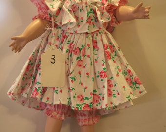 "Modern doll dress for  16"" Doll.   Shop item #3"