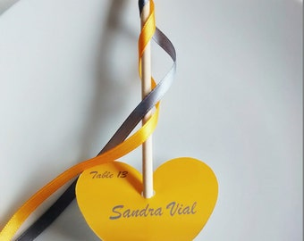 Wand ribbons brand place for wedding ceremony