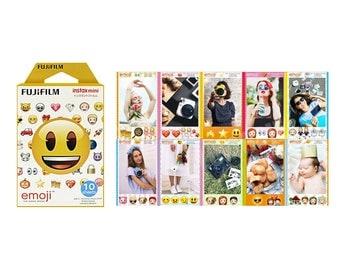 Emoji Fujifilm Instax Mini Film Instant Photos