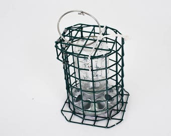 Kettle Cove Bird Feeder, made from Maine lobster trap components.