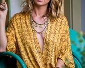 Sundaze necklace, brass necklace, brass jewelry, gold necklace, gold jewelry, brass