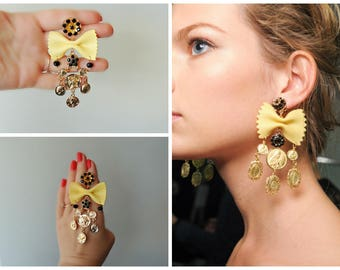 Earrings Dolce style - Pasta  party 2