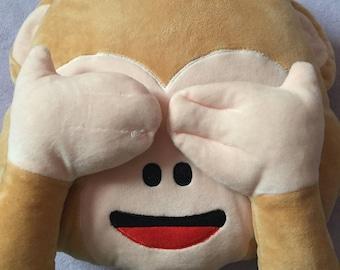 Emoji cushion pillow plush great for Road trip